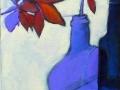 Autumn Leaves in Blue Bottle