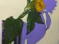 "single sunflower  40""x30"" Sep 13, 2015, 10-25 AM"