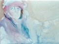 "Winterw Work   watercolor  18""x24"""